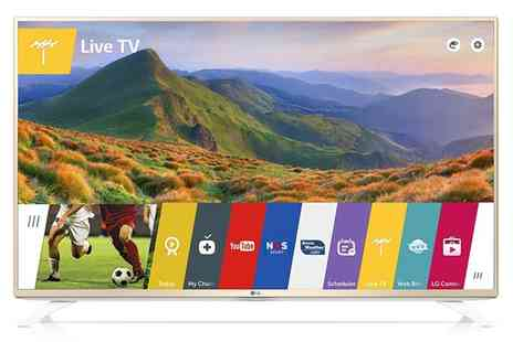 Bargain lot - LG 43UF690V 43 Inch 4K Ultra HD LED Smart TV Freeview HD With Free Delivery - Save 20%