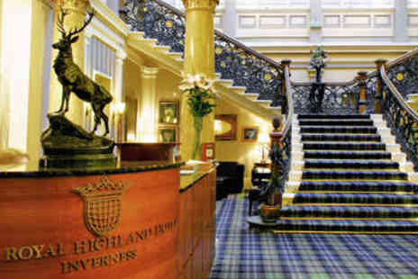 The Royal Highland Hotel - Two nights stay for two with breakfast in Inverness - Save 0%