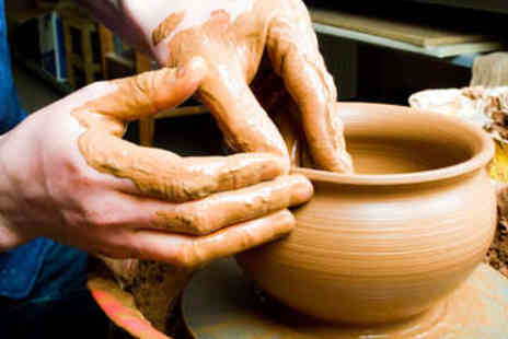 Tradpots - Two Hour Pottery Making Class - Save 48%