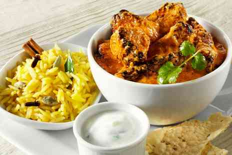 Coppers Spice Cafe - Indian Dinner & Bubbly for Two - Save 31%