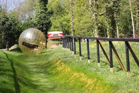 Go Zorbing - Zorbing experience for two - Save 57%