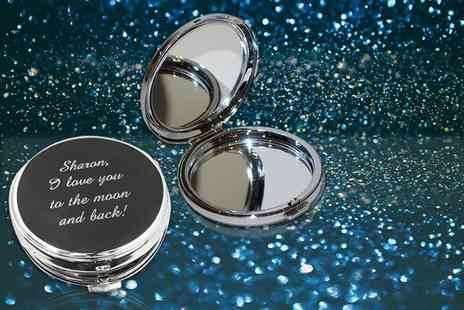 Aspire - Personalised compact mirror  - Save 69%