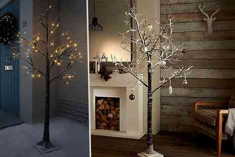 Steal a deal - 7fit snow effect festive tree - Save 58%
