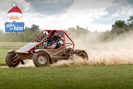 Heart of England - Rage karting and laser clay shooting for one  - Save 71%