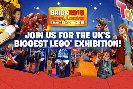 BRICK 2015 - Tickets to BRICK 2015 to 11 or 13 December - Save 31%