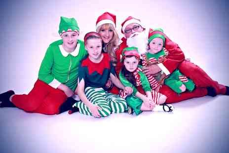 Xposure Studios - Little Santa or Family Christmas Themed Photoshoot  - Save 81%
