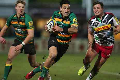 Northampton Saints Rugby Club - Ticket  to Saints v Exeter match on New Years Day on 1 January - Save 25%