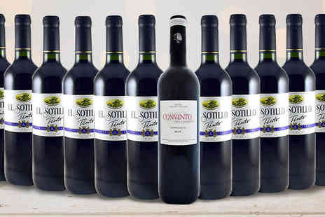 GLOBAL DEALS RIOJA PREMIUM - 12 Bottles of Spanish Rioja Red Wine Hamper - Save 72%