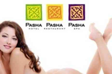 Pasha Spa - Six Sessions of IPL Hair Removal on Choice of Areas Such as Half Legs - Save 92%