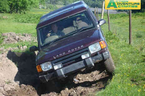 Action Adventure Activities - Junior 4x4 Driving Experience - Save 58%