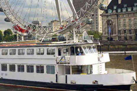 London Party Boats - River Thames Afternoon Tea Cruise - Save 0%