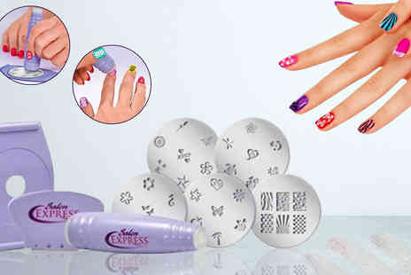 CheekyBox - Nail Art Stamping Kit - Save 40%