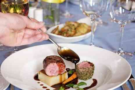 Moor Hall Hotel - Two AA Rosette Dinner for Two - Save 41%