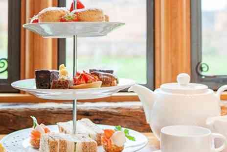 Eckington Manor - Afternoon Tea & Bubbly for Two - Save 43%