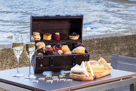 Doubletree by Hilton  - Sparkling treasure chest afternoon tea for two with a glass of Prosecco each  - Save 55%