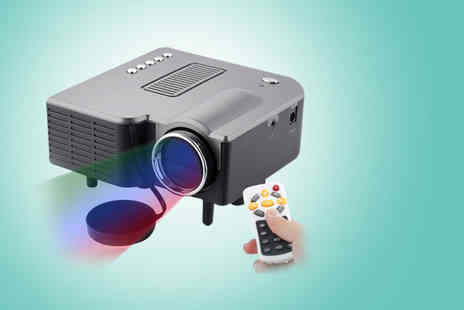 Eurosfield Maptrak - Portable LED projector - Save 60%