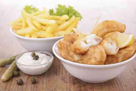 The Ashvale - Takeaway Fish and Chips For Two  - Save 49%