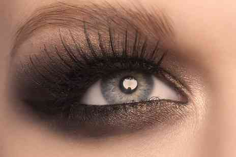 Celestial Beauty - Full Set of Semi Permanent Eyelash Extensions with Optional Eye Makeover - Save 0%