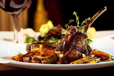 The Willow Tree Bar and Grill - Two Course Meal with a Glass of Wine for Two - Save 44%