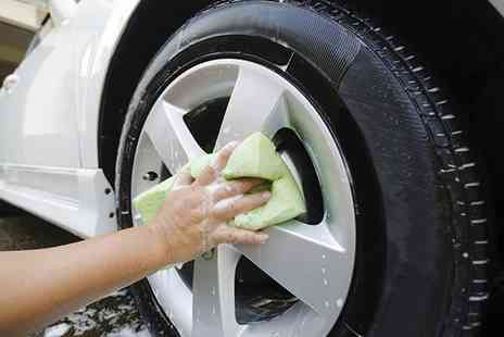 I Wash - Car and Wheel Wash or Silver Valet  - Save 40%