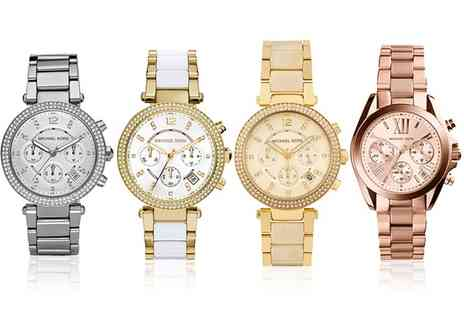 Outlet Perfumes - Michael Kors Watch in Choice of Design With Free Delivery - Save 34%
