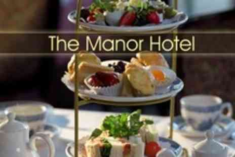 The Manor Hotel - Afternoon Tea For Two With Bubbly - Save 52%