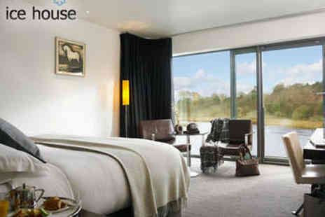 The Ice House Hotel - One night  Stay for two plus Massage - Save 45%