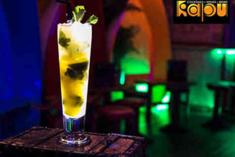 Kapu Tiki Bar - Cocktail Making Class for Two with Bubbly - Save 58%