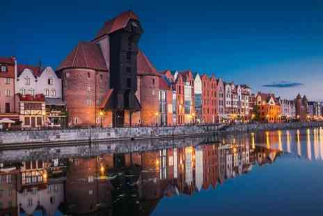 Hotel Admiral Gdansk - Fly to Gdansk with a Four Star One night stay, hand luggage, breakfast, sauna and hammam - Save 0%