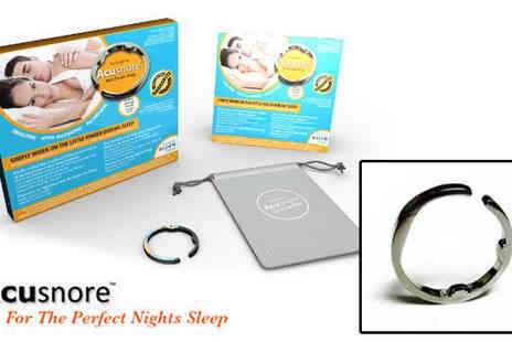 forever cosmetics - Acusnore Anti Snoring Device - Save 80%