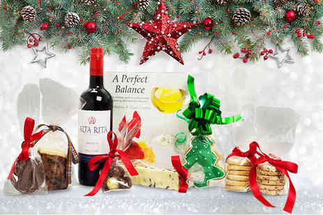 Derbyshire Wine Company - MasterChef Christmas hamper with wine  - Save 67%