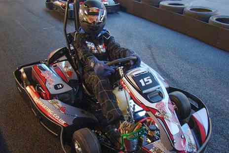 TeamKarting - Up to 50 Minutes or 100 Laps of Go Karting   - Save 0%