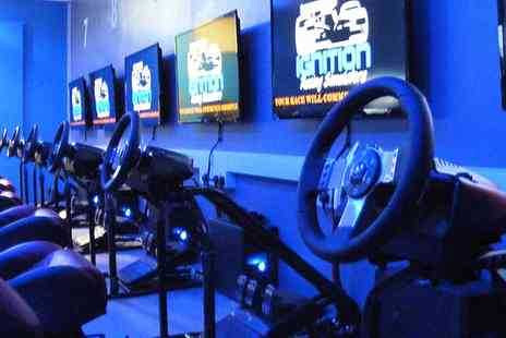 ignition racing - Grand Prix Racing Simulator Experience - Save 0%