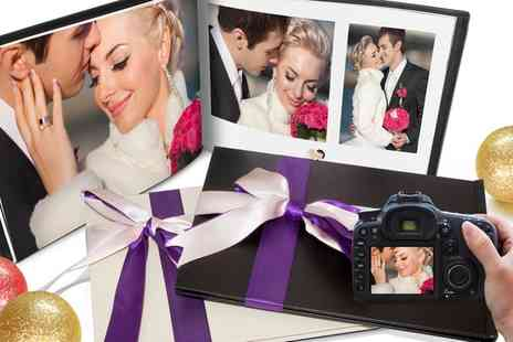 Printerpix - Personalised Leather Photo Book - Save 84%