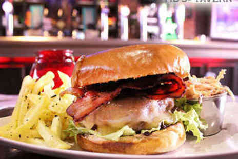 Tib Street Tavern - Burgers or Hot Dogs with Fries for Two - Save 54%