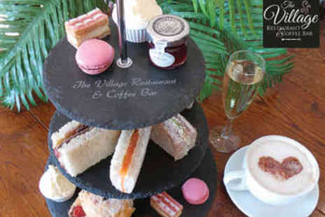 Blakemere Village - Afternoon Tea for Two with Prosecco - Save 55%