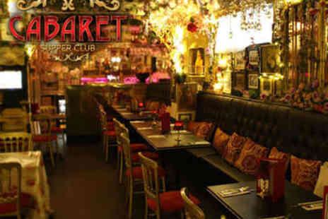 Cabaret Supper Club - Murder Mystery Evening with Two Courses Plus Prosecco - Save 56%
