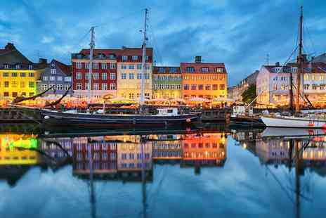 First Hotel - Two, Three or Four Nights Stay in the Danish capital with return flights and breakfast - Save 0%