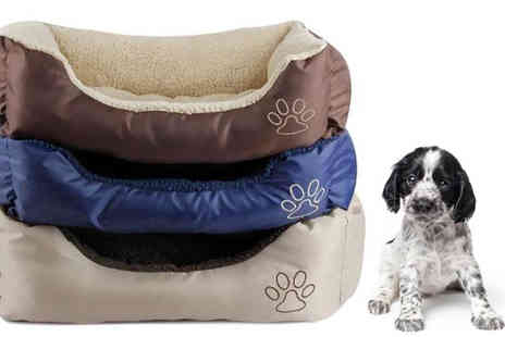 Afrapoco - Deluxe Soft Washable Dog Bed - Save 70%