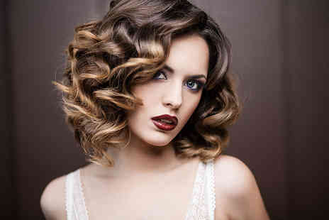 Exquisite Hair and Beauty  - Natural look balayage with wash, cut and blowdry plus a glass of bubbly   - Save 73%