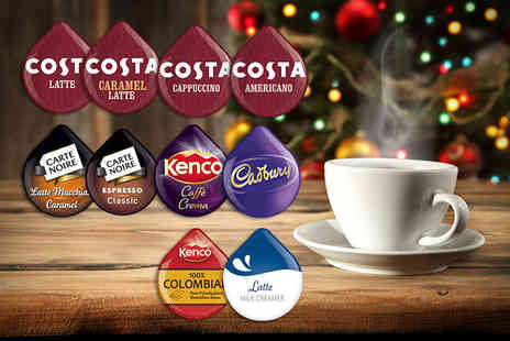 The Coffee Market - Mixed starter pack of 20 Tassimo T Discs for 40 Tassimo T Discs - Save 60%