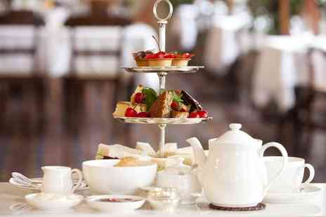 The Llyndir Hall Hotel - Festive Sparkling Afternoon Tea for Up to Six with Spa Access  - Save 43%