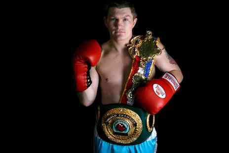 Tip Top Promotions - One Ticket to an Evening with Ricky Hatton with an Optional Two Course Dinner on 6 December  - Save 75%
