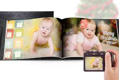 Printerpix - Personalised A4 Leather Photo Book - Save 71%