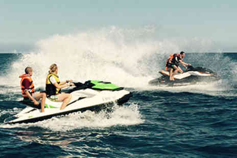 RIB Powerboating -  Double Trouble Jet Skiing and RIB Powerboating Thrill in Brighton - Save 20%