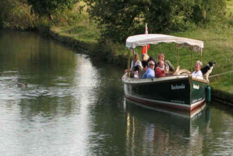 The Mad Hatte -  Mad Hatter Afternoon Tea Cruise for Two in Oxford - Save 15%