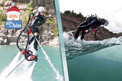 Big Crazy - 90 minute flyboarding experience for one - Save 18%