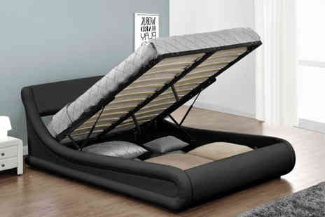 Limitless Base - Double Rio designer ottoman bed - Save 76%