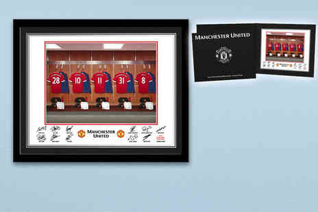 UR in the Paper - Personalised framed football dressing room photo - Save 67%