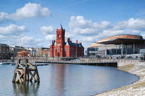 The Angel Hotel - One night in Cardiff city break for Two including breakfast, dinner, wine and late checkout - Save 34%